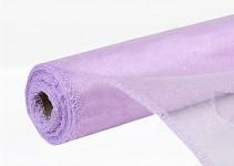Organza šerpa - briliant sv.fialová