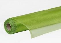 Organza šerpa - briliant travní zelená