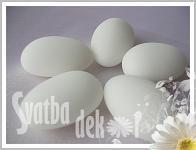 Svatební mandle - bílá - 1ks