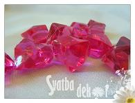 Akrylové krystaly - fuchsia