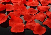 Plátky růží - červené  - 100ks