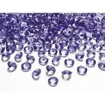 Akrylové diamanty malé - fialové