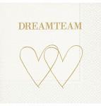 Ubrousky - svatební polibek