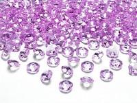 Akrylové diamanty malé - sv.fialové