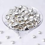 Čokoládová stříbrná srdíčka -  250 g
