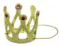 Párty princeznovská korunka - zlatá