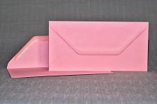 Obálka barevná DL - růžová