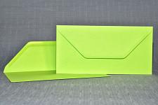 Obálka barevná DL- jasně zelená