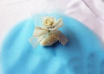 Mošnička tylová - modrá - 10 ks