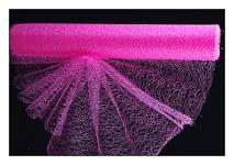 Organza pavučina - sv.růžová