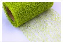 Organza pavučina stuha - hrášk.zelená