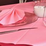 Ubrousky - Airlaid růžové