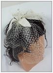 Vlasová ozdoba velká VI. - bílá