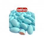 Svatební mandle - modré - 1ks