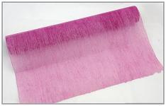 Vlizelín plissé - bordó