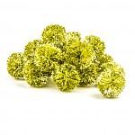 Koule aranžovací zelená - 5 cm - 1 ks