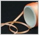 Saténová stuha 6 mm - lososová - 1m