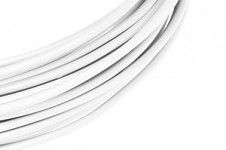 Hliníkový dekorační drátek 2mm/5m - bílý