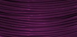 Hliníkový dekorační drátek 2mm/5m - švestkový
