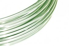 Hliníkový dekorační drátek 2mm/5m - mátový