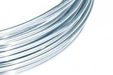 Hliníkový dekorační drátek 2mm - sv.modrý 5m