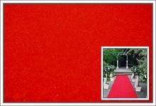 Svatební koberec - běhoun - červený - 10m