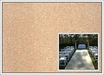 Svatební koberec - běhoun - krémový - 10m