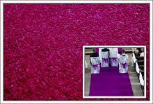 Svatební koberec - běhoun - švestkový - 10m