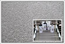 Svatební koberec - běhoun - šedý - 10m