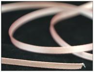 Saténová stuha 6 mm - sv.růžová - 1m