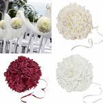 Koule z růží - bílá velká - půjčovna