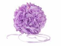 Koule z růží 17 CM - fialová