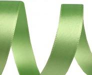 Stuha saténová 15mm - sv.zelená - 1 m