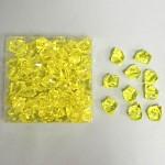 Akrylové krystaly - žluté