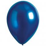 Balonky - metalické tmavě modré - 1ks