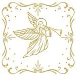Ubrousky vánoční - cesmína