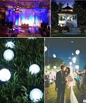 Voděodolné LED světlo - magická kulička