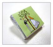 Čokoládka svatební mini - pár u stromu