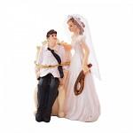 Figurka na dort - svázaný ženich