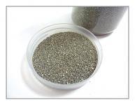 Dekorační písek - stříbrný jemný