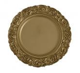 Aranžovací podložka - kulatá zlatá - 36 cm