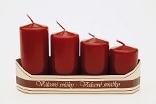Adventní svíce - vínové postupné