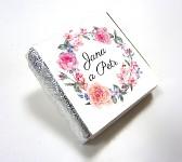 Čokoládka svatební mini - květinový věnec
