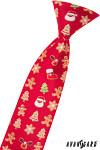 Kravata chlapecká - vánoční motivy