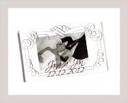 Čokoládka svatební tabulka - foto