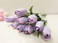Tulipán umělý - levandulový