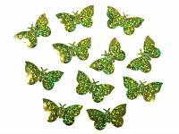 Konfety motýlci - zelení