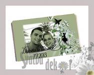 Čokoládka svatební tabulka - foto III.