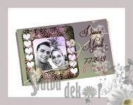 Čokoládka svatební tabulka - foto IV.