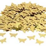Konfety motýlci - zlatí